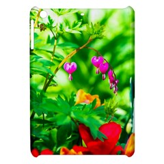 Bleeding Heart Flowers In Spring Apple Ipad Mini Hardshell Case by FunnyCow