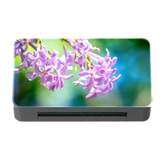 Beautiful Pink Lilac Flowers Memory Card Reader With Cf by FunnyCow