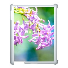 Beautiful Pink Lilac Flowers Apple Ipad 3/4 Case (white) by FunnyCow
