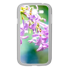 Beautiful Pink Lilac Flowers Samsung Galaxy Grand Duos I9082 Case (white) by FunnyCow
