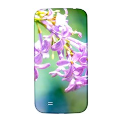 Beautiful Pink Lilac Flowers Samsung Galaxy S4 I9500/i9505  Hardshell Back Case by FunnyCow