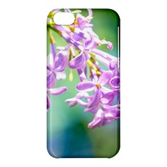Beautiful Pink Lilac Flowers Apple Iphone 5c Hardshell Case by FunnyCow