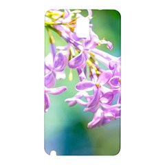 Beautiful Pink Lilac Flowers Samsung Galaxy Note 3 N9005 Hardshell Back Case by FunnyCow