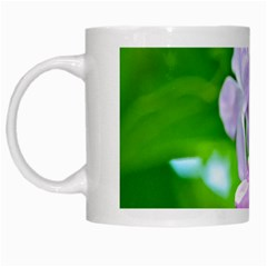 Elegant Pink Lilacs In Spring White Mugs by FunnyCow