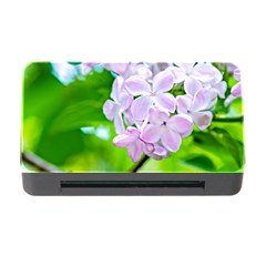 Elegant Pink Lilacs In Spring Memory Card Reader With Cf by FunnyCow
