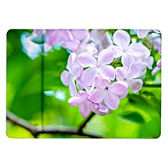 Elegant Pink Lilacs In Spring Samsung Galaxy Tab 10 1  P7500 Flip Case by FunnyCow