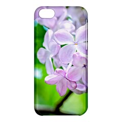 Elegant Pink Lilacs In Spring Apple Iphone 5c Hardshell Case by FunnyCow