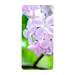 Elegant Pink Lilacs In Spring Samsung Galaxy Alpha Hardshell Back Case by FunnyCow