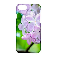 Elegant Pink Lilacs In Spring Apple Iphone 7 Hardshell Case by FunnyCow