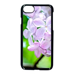 Elegant Pink Lilacs In Spring Apple Iphone 8 Seamless Case (black) by FunnyCow
