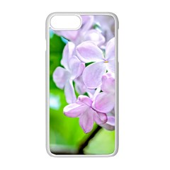 Elegant Pink Lilacs In Spring Apple Iphone 8 Plus Seamless Case (white) by FunnyCow