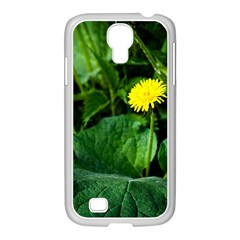 Yellow Dandelion Flowers In Spring Samsung Galaxy S4 I9500/ I9505 Case (white) by FunnyCow