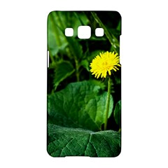Yellow Dandelion Flowers In Spring Samsung Galaxy A5 Hardshell Case  by FunnyCow