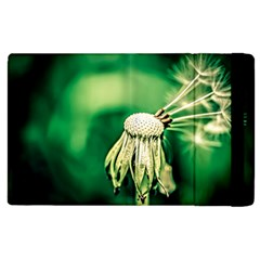 Dandelion Flower Green Chief Apple Ipad 3/4 Flip Case by FunnyCow