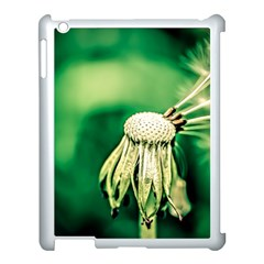 Dandelion Flower Green Chief Apple Ipad 3/4 Case (white) by FunnyCow