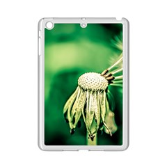 Dandelion Flower Green Chief Ipad Mini 2 Enamel Coated Cases by FunnyCow