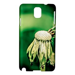 Dandelion Flower Green Chief Samsung Galaxy Note 3 N9005 Hardshell Case by FunnyCow
