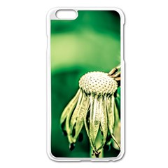 Dandelion Flower Green Chief Apple Iphone 6 Plus/6s Plus Enamel White Case by FunnyCow