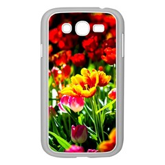 Colorful Tulips On A Sunny Day Samsung Galaxy Grand Duos I9082 Case (white) by FunnyCow