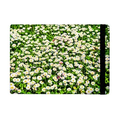 Green Field Of White Daisy Flowers Apple Ipad Mini Flip Case by FunnyCow