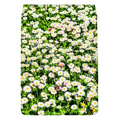 Green Field Of White Daisy Flowers Flap Covers (l)  by FunnyCow