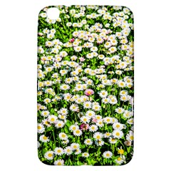 Green Field Of White Daisy Flowers Samsung Galaxy Tab 3 (8 ) T3100 Hardshell Case  by FunnyCow