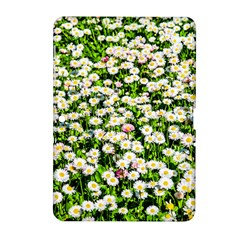 Green Field Of White Daisy Flowers Samsung Galaxy Tab 2 (10 1 ) P5100 Hardshell Case  by FunnyCow