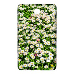 Green Field Of White Daisy Flowers Samsung Galaxy Tab 4 (7 ) Hardshell Case  by FunnyCow