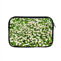 Green Field Of White Daisy Flowers Apple Macbook Pro 15  Zipper Case by FunnyCow