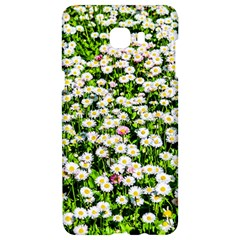 Green Field Of White Daisy Flowers Samsung C9 Pro Hardshell Case  by FunnyCow
