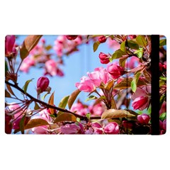 Crab Apple Blossoms Apple Ipad 3/4 Flip Case by FunnyCow
