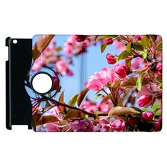 Crab Apple Blossoms Apple Ipad 3/4 Flip 360 Case by FunnyCow