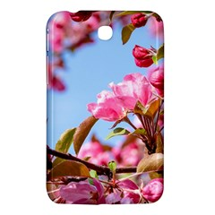 Crab Apple Blossoms Samsung Galaxy Tab 3 (7 ) P3200 Hardshell Case  by FunnyCow