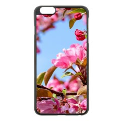 Crab Apple Blossoms Apple Iphone 6 Plus/6s Plus Black Enamel Case by FunnyCow
