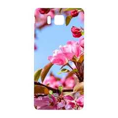 Crab Apple Blossoms Samsung Galaxy Alpha Hardshell Back Case by FunnyCow