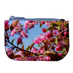 Crab Apple Blossoms Large Coin Purse