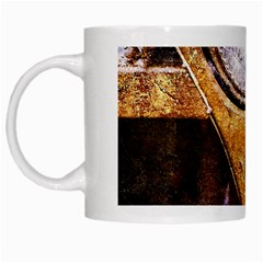 Vintage Off Roader Car Headlight White Mugs by FunnyCow