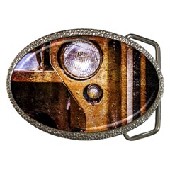 Vintage Off Roader Car Headlight Belt Buckles