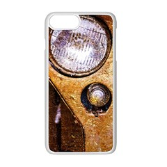 Vintage Off Roader Car Headlight Apple Iphone 8 Plus Seamless Case (white) by FunnyCow
