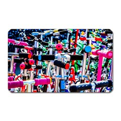 Time To Choose A Scooter Magnet (rectangular) by FunnyCow