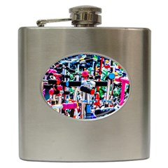 Time To Choose A Scooter Hip Flask (6 Oz) by FunnyCow