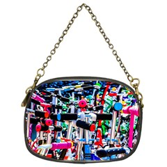 Time To Choose A Scooter Chain Purses (one Side)  by FunnyCow