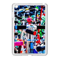 Time To Choose A Scooter Apple Ipad Mini Case (white) by FunnyCow