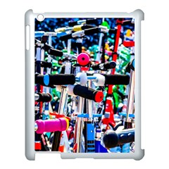 Time To Choose A Scooter Apple Ipad 3/4 Case (white) by FunnyCow