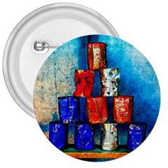Soup Cans   After The Lunch 3  Buttons by FunnyCow