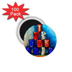 Soup Cans   After The Lunch 1 75  Magnets (100 Pack)  by FunnyCow