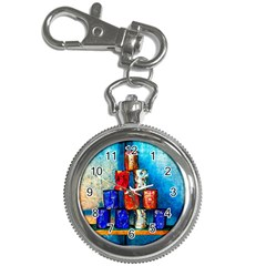 Soup Cans   After The Lunch Key Chain Watches by FunnyCow