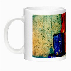 Soup Cans   After The Lunch Night Luminous Mugs by FunnyCow