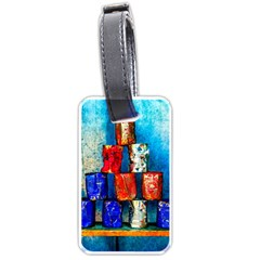 Soup Cans   After The Lunch Luggage Tags (one Side)  by FunnyCow