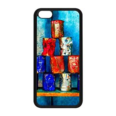 Soup Cans   After The Lunch Apple Iphone 5c Seamless Case (black) by FunnyCow